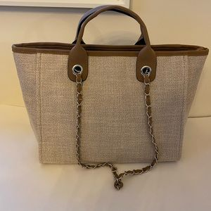 DVILLE Style Woven Tote